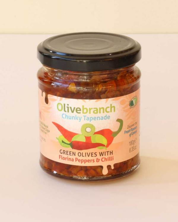 Olive Branch Chunky Tapenade product shot