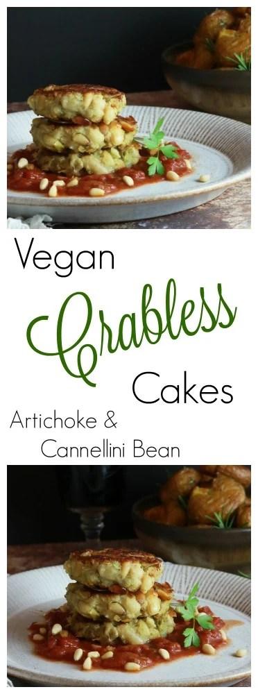 Vegan Crabless Cakes pinterest