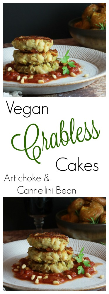 Vegan Crabless Cakes pinterest