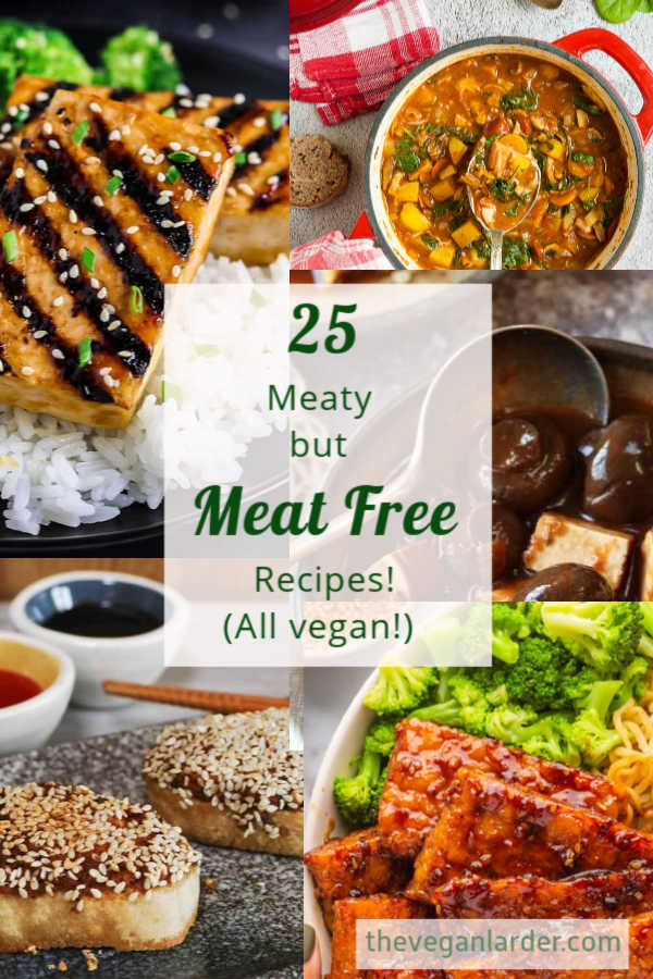 Meaty but Meat Free round up collage