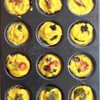 Vegan Eggless Bites (Mini Frittatas)