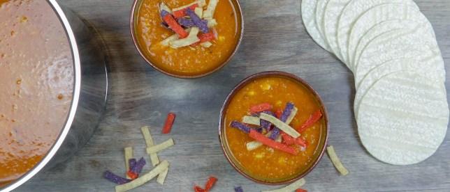White Corn Tortilla Soup