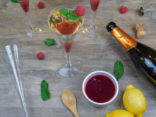 Thirst-Quenching Raspberry Bellini