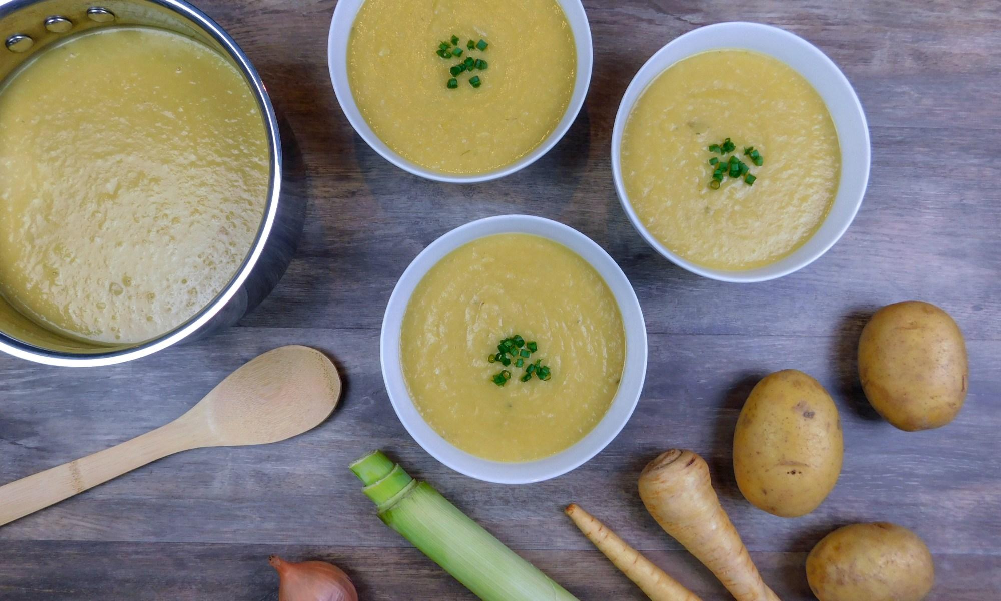 Potato-Parsnip Leek Soup