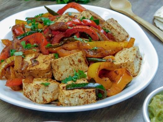 The Best Vegan Fajita's