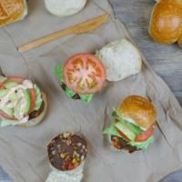 Plant-Based Taco Burger