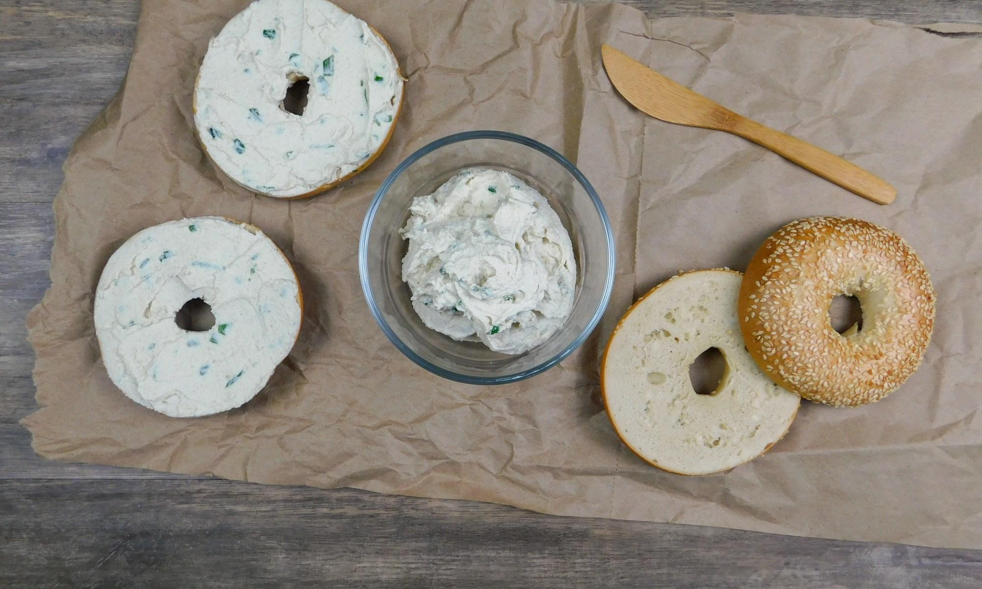 Cashew Chive Cream Cheese