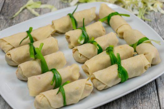Spring Rolls with Sambucol Elderberry-Plum Sauce - The Vegan Rhino x Sambucol
