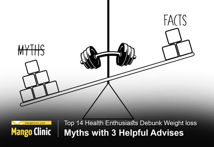 Top 14 Health Enthusiasts Debunk Weight loss Myths with 3 Helpful Advises - The Vegan Rhino