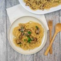 Mushroom Marsala Spaghetti