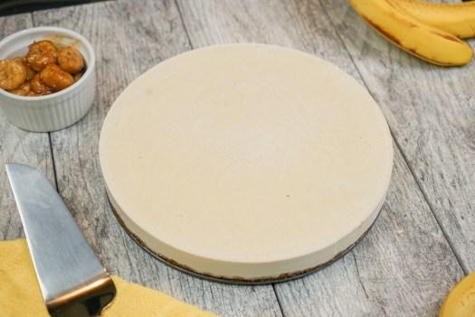 Banana Fosters Cheesecake