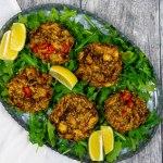 Vegan Crab Cakes - The Vegan Rhino