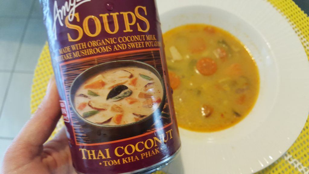 amy's kitchen soup travel trailers with rear amy s thai coconut tom kha pak review the vegan feature
