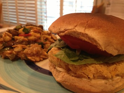 Chickpea Bean Burger