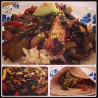 Meatless Monday: Chick'n Burritos