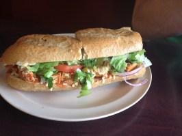 Buffalo Chickn Sandwich
