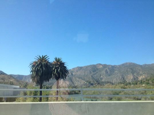 Driving along the coast to Thousand Oaks