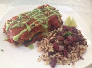Enchiladas at Joi Cafe in Thousand Oaks