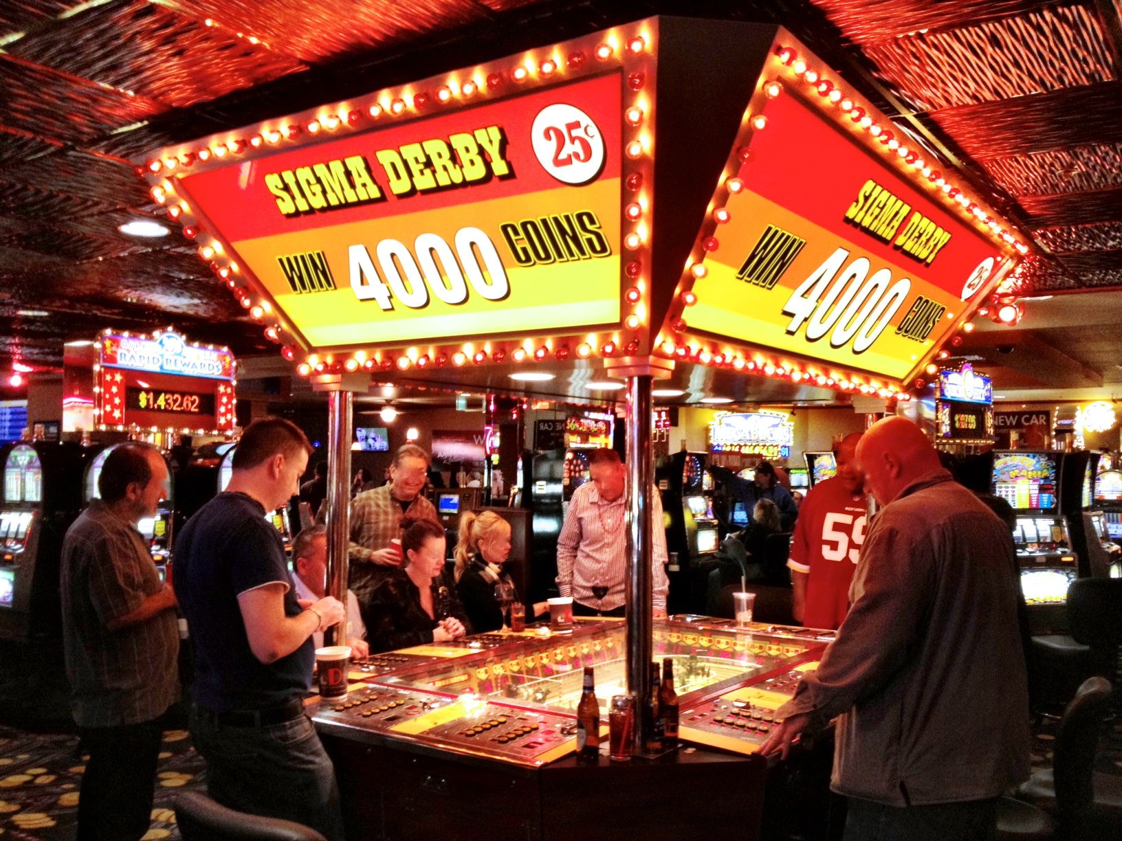 Something about that Slot Machine Horse Racing Game  Discovering Sigma Derby While in Downtown