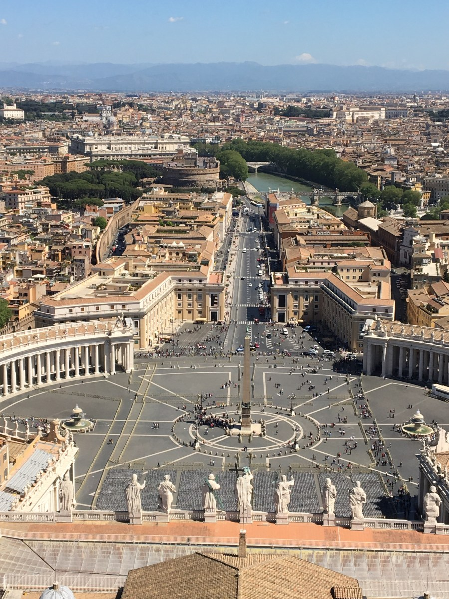 Vatican City and a bit of Rome