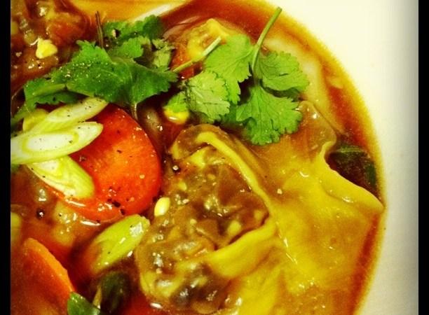 Vegetarian Wonton Soup   Veggie Mama