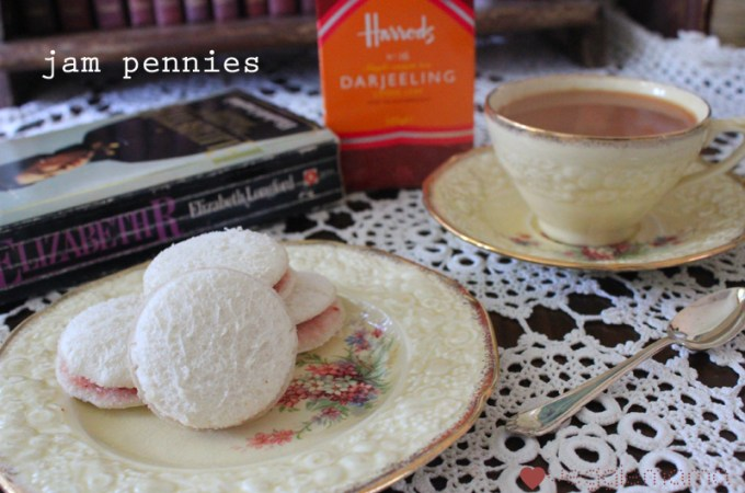 Jam Pennies, Queen Elizabeth's favourite sandwich | Veggie Mama