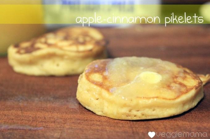 apple cinnamon pikelets