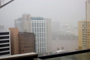 Brisbane rain
