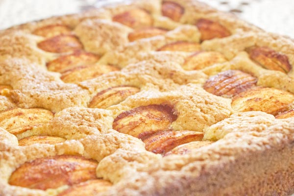 finnish apple cake