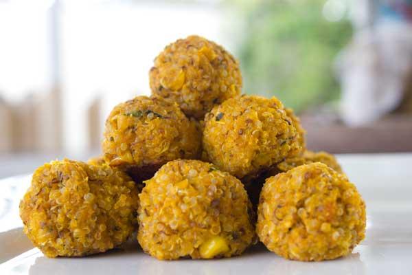 Veggie Quinoa Bites