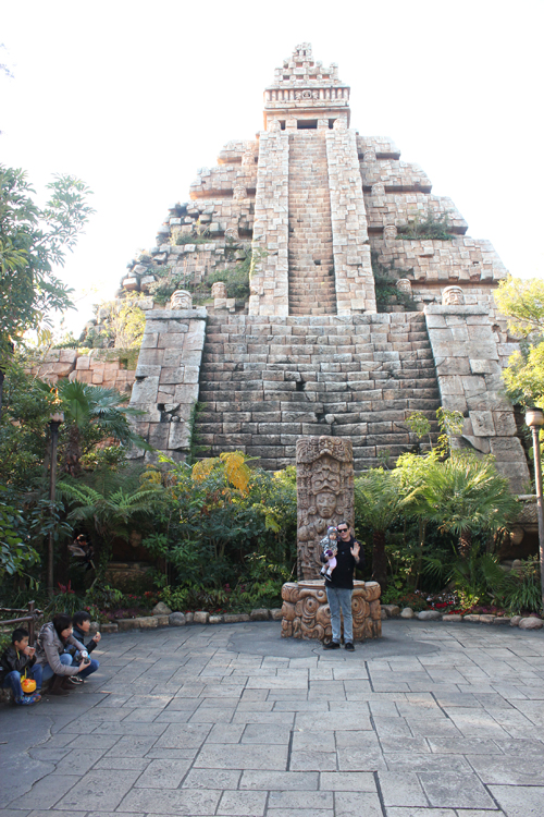disney sea temple