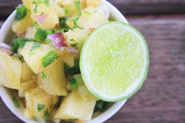 Quick Pineapple Salsa