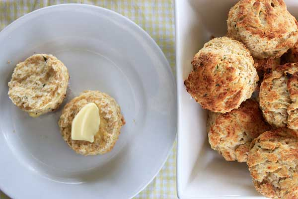 Cheesy Herb Savoury Scones