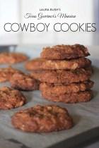Laura Bush's Texas Governor's Mansion Cowboy Cookies
