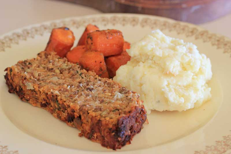 Really Good Vegetarian Meatloaf (excellent if you're looking for a veg option on Christmas)