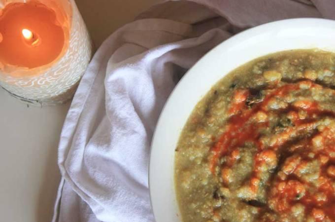Spicy Crock Pot Kitchari