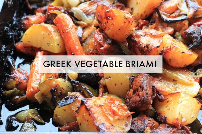 Briami (Greek Vegetable Stew) Recipe