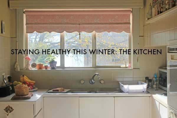 Staying healthy this winter: How we fight off colds and flu at our house - starting with the kitchen / Veggie mama
