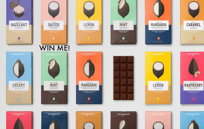 WIN! A Limited-Edition Box of 10 Loving Earth Chocolates [ended]
