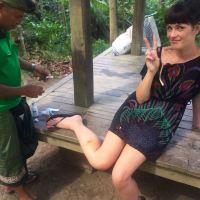 Soooo I got attacked by monkeys in the Monkey Forest, Ubud, Bali
