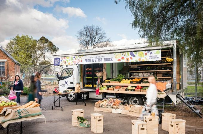 Help Support the Asylum Seeker Resource Centre Food Justice Truck