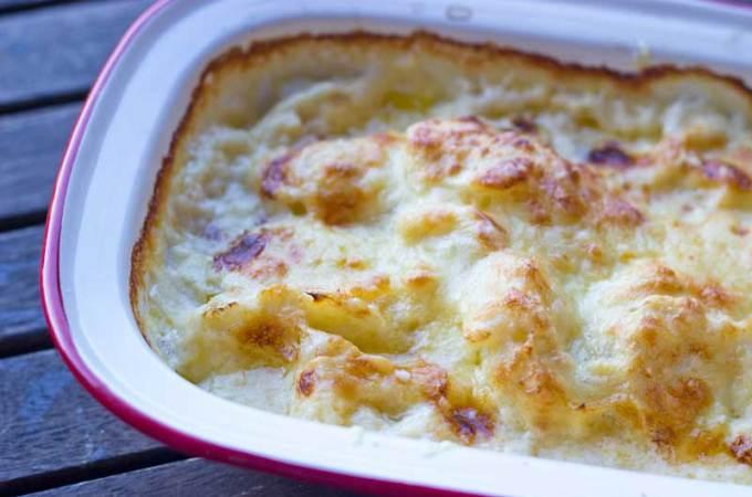 My favourite cauliflower cheese recipe