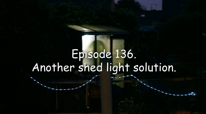Episode 136 of the veg grower podcast and I have another solution for a shed light.