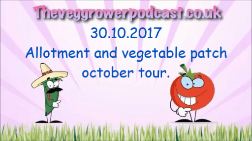 This weeks video from the veg grower podcast, Allotment and vegetable patch tour.