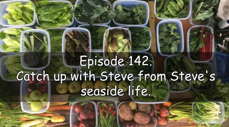 In episode 142 of the veg grower podcast I am joined with Steve from Steve's seaside life.