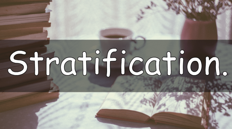 This weeks word is stratification. Part of a series of blog posts explaining a few words used in gardening.