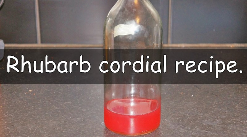 At the moment I have a huge amount of rhubarb that I need to find ways to use up. After trying this rhubarb cordial recipe I thought I would share it.