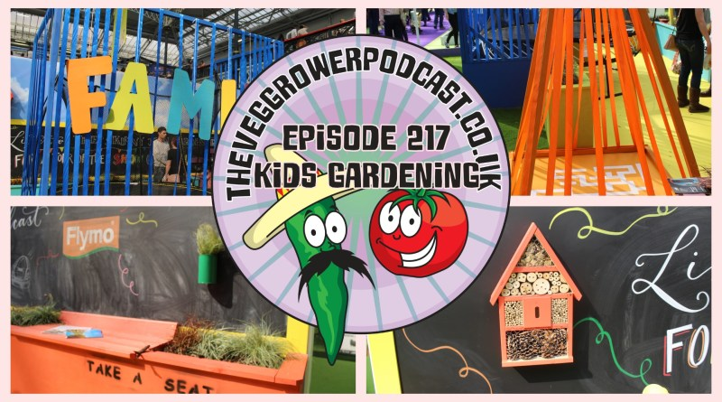 Join me in episode 217 where Ill be chatting to Lee Connelly aka the skinny jean gardener about keeping kids entertained in the garden. I also share the latest on my allotment and vegetable patch.