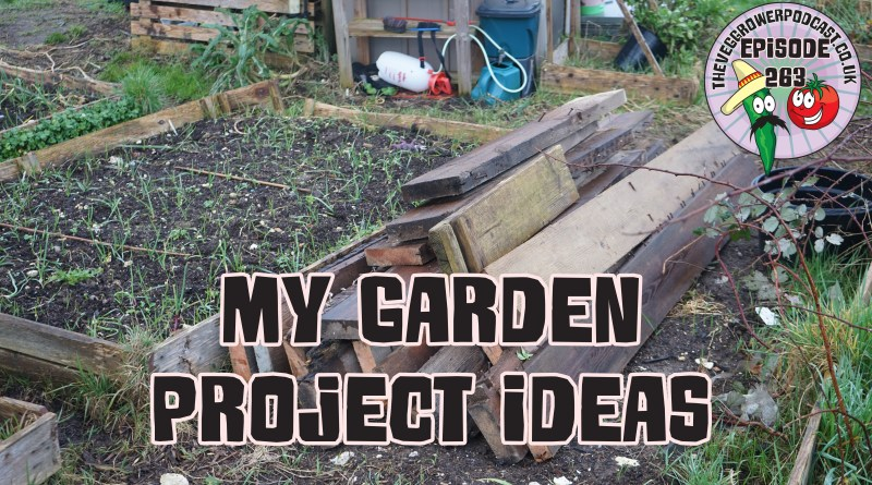 Join me in this weeks podcast where I share a few projects I plan to do in my garden over these next few weeks. I also share the latest from the plots.