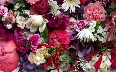 Floral design: Five ways with jewel tone wedding flowers to make an impact